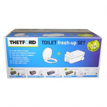 Thetford Toilet Fresh Up Set C2 / C3 / C4 Left Hand